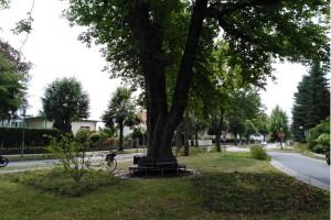 Radtour Ladeburg: Kreuzung Kirchplatz