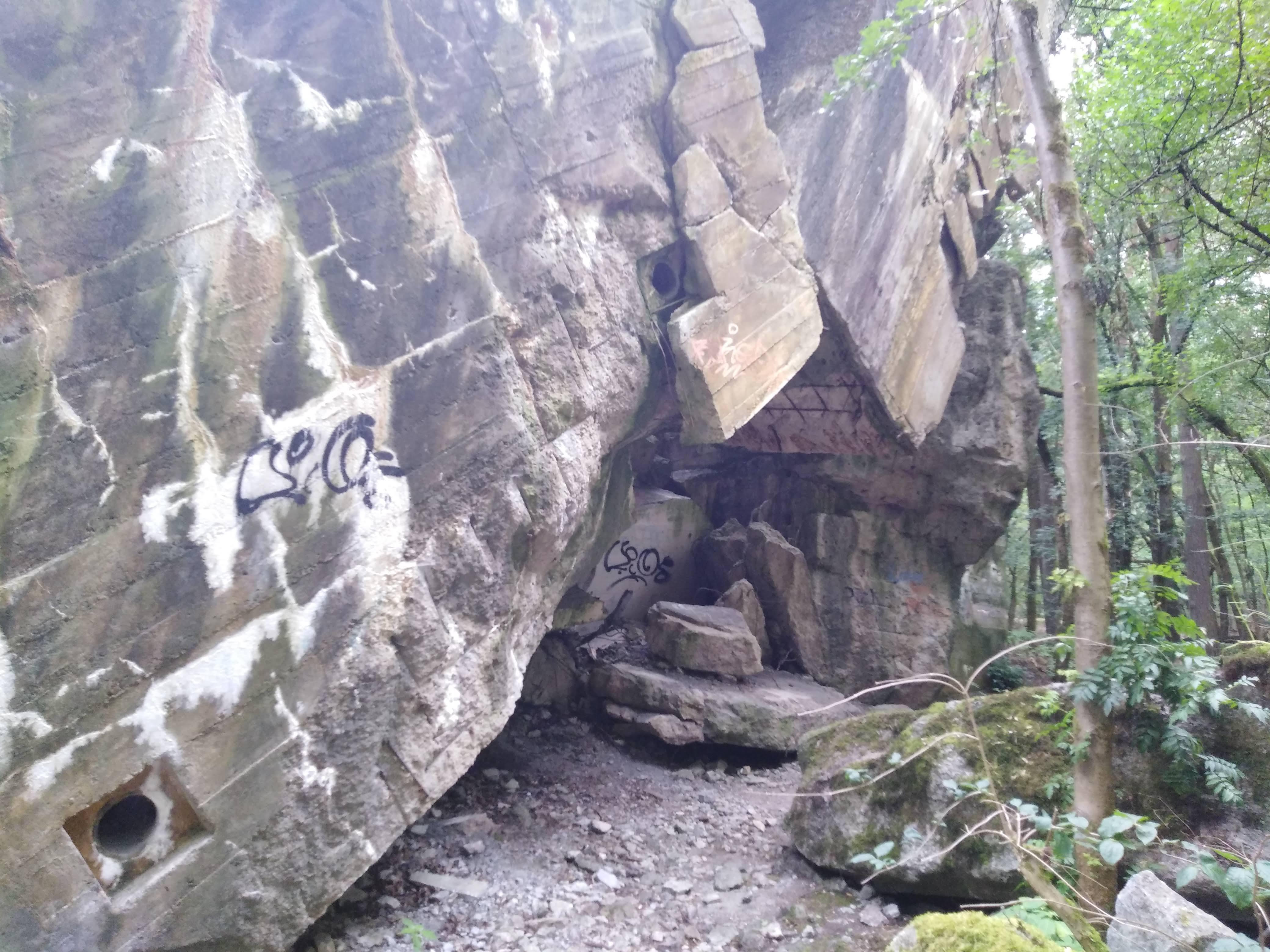 Wanderung Nähe Lanke / Lobetal: Ruine vom Lager Koralle