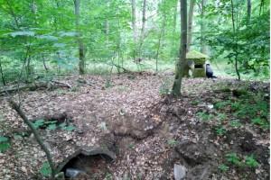 Wanderung Nähe Lager Koralle: Bunkeranlage