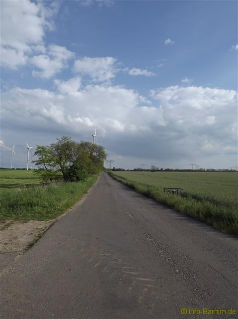 Straße im Landkreis Barnim